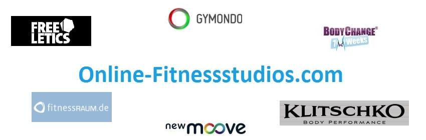 Online Fitnessstudios