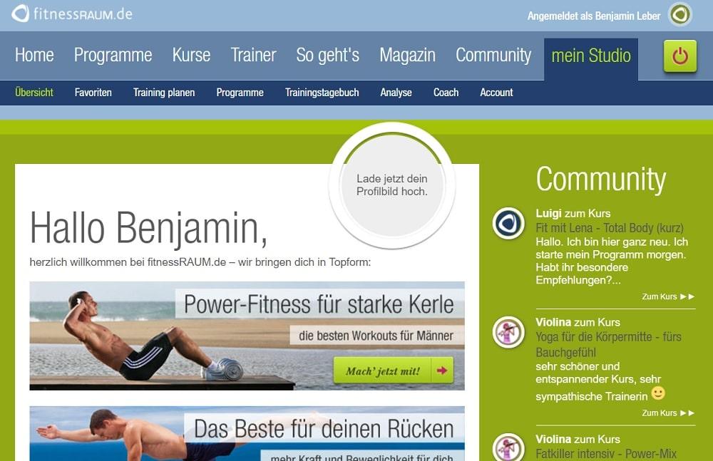 fitnessRAUM Programm