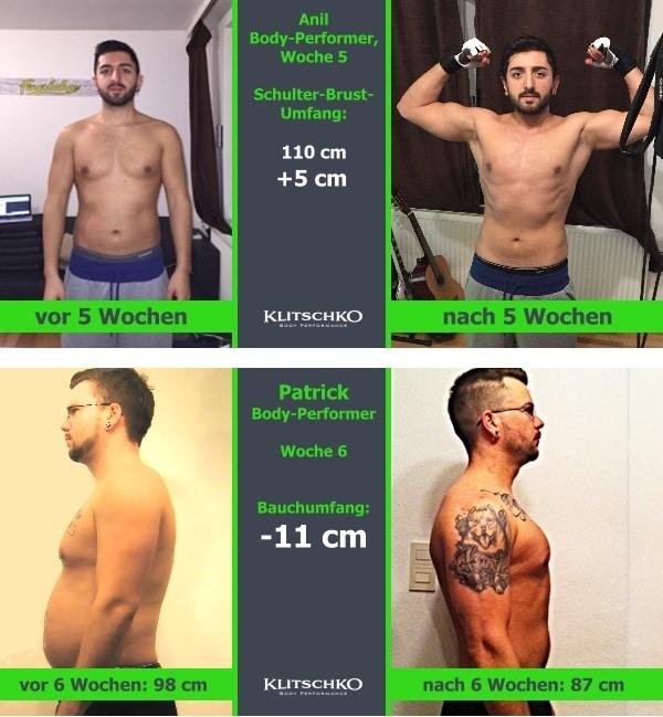 Klitschko Body Perform Erfahrung