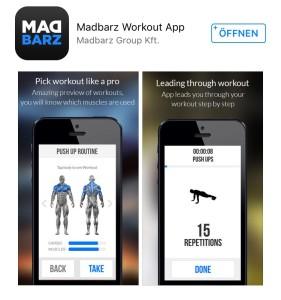 Madbarz Fitness App