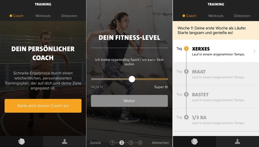 Freeletics Running Coach Trainingsplan