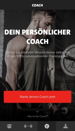 Freeletics Gym App