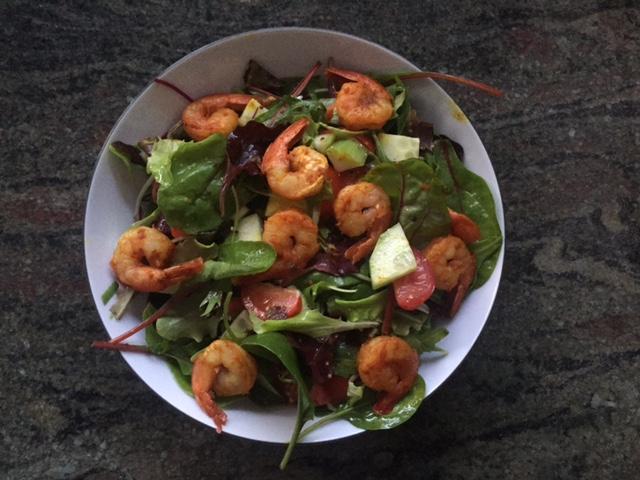 Sophia Thiel Rezepte Salat Garnelen