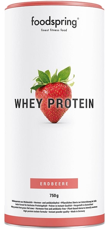 foodspring Whey Protein im Test
