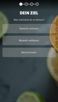 Freeletics Nutrition App