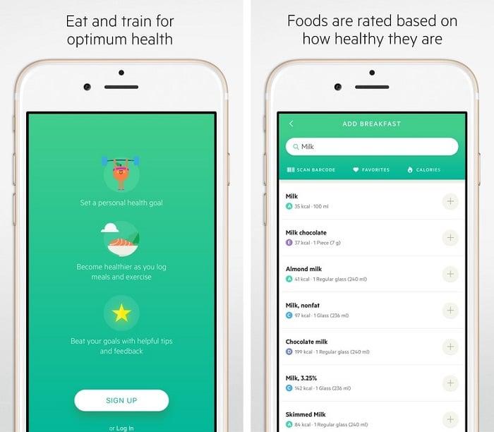 Apps zum Abnehmen - Lifesum App