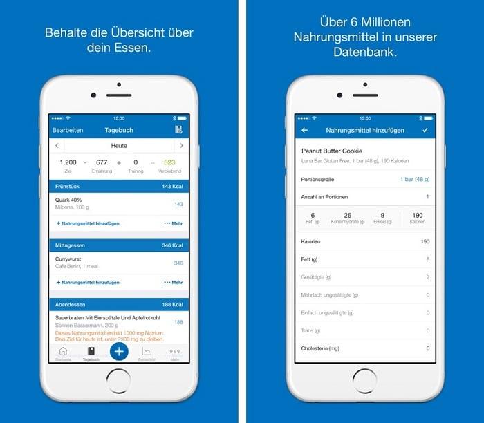 MyFitnessPal – Kalorienzählen App