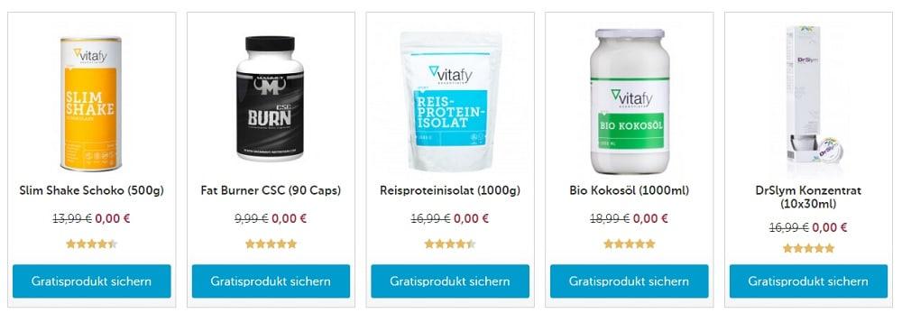 Vitafy Gratisprodukt