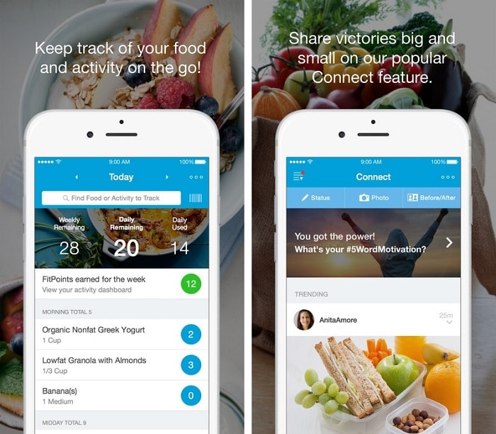 Abnehm App - Weight Watchers App