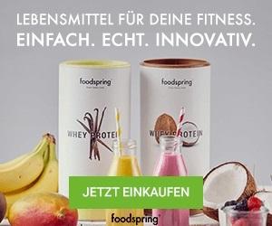foodspring Fitness Ernährung