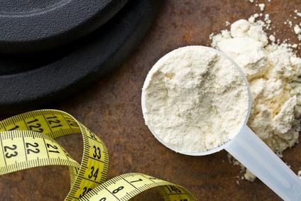 Whey Protein für Muskelaufbau