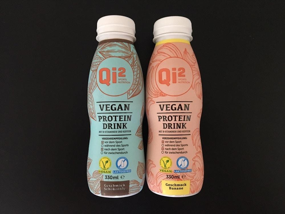 Qi2 Erfahrungen Vegan Protein-Drink