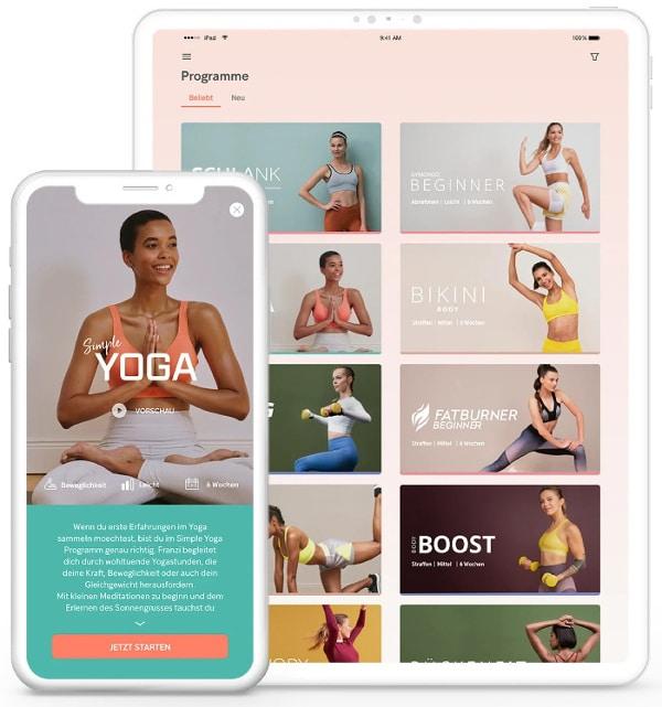 Gymondo Fitness Programme und Workouts
