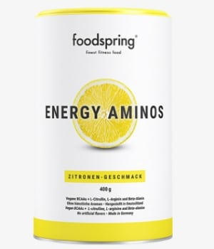 foodspring Trainingsbooster Energy Aminos - beste Pre Workout Booster