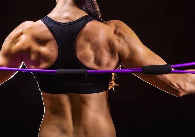 Fitnessband Übung