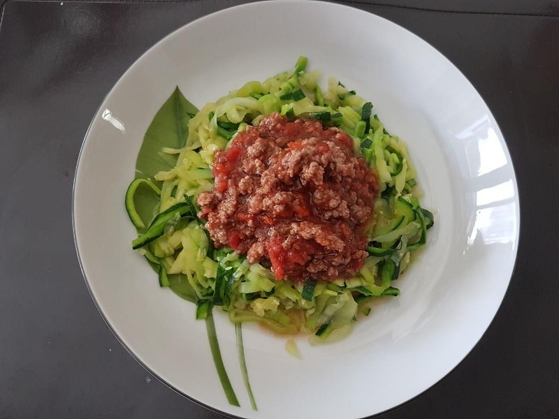 Zoodles Bolognese