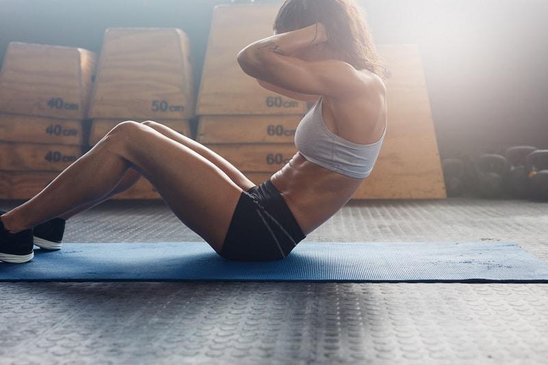 Bauchmuskelübungen