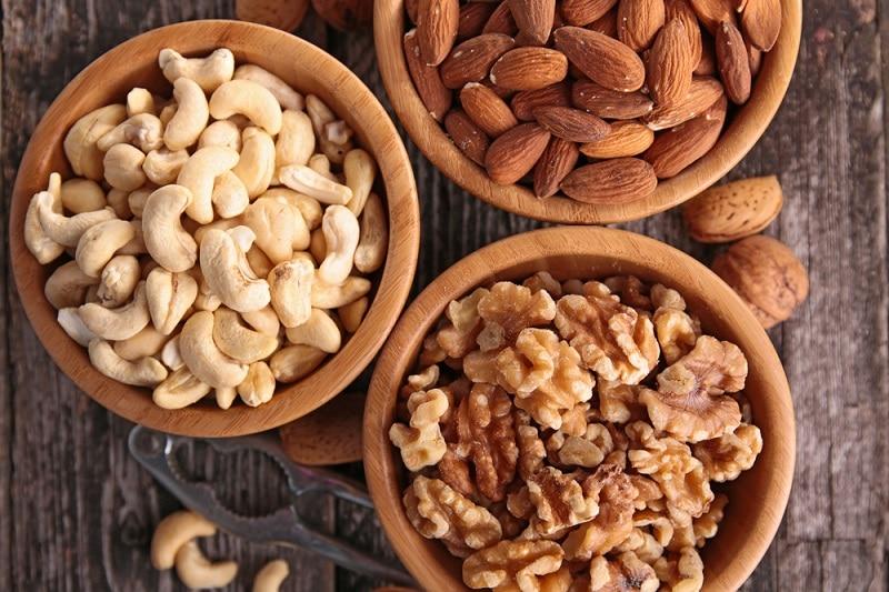 proteinreiche Lebensmittel Liste - Mandeln