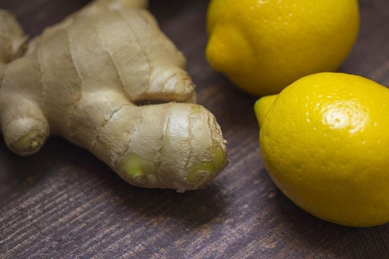 Ingwertee Rezept mit Zitrone und Honig