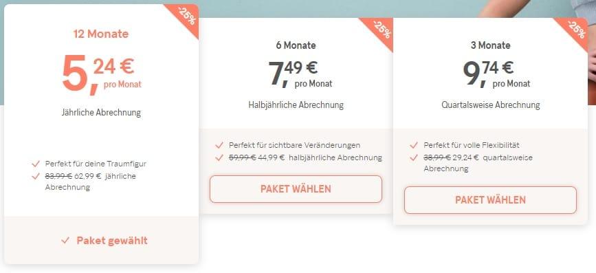 Gymondo Kosten 2020