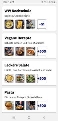 Vegane Rezepte bei Weight Watchers